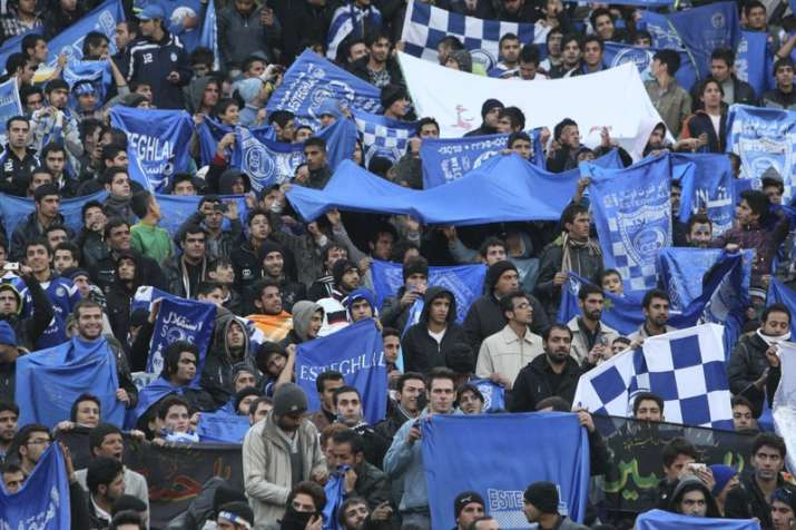 Iranian female soccer fan dies after setting herself on fire