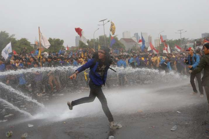 Key demands of anti-government protests sweeping Indonesia