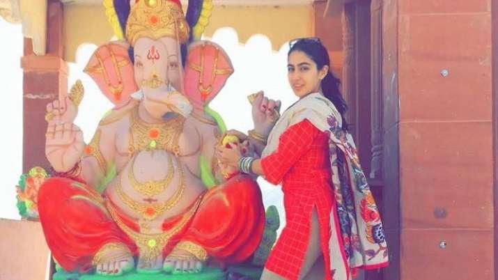 Sara Ali Khan brutally trolled for celebrating Ganesh Chaturthi