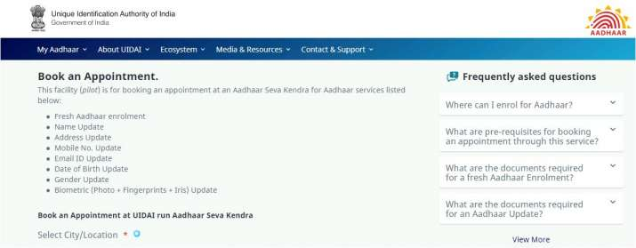 India Tv - In order to avail the facilities of theSevaKendra, the cardholders arerequired to make an online appointment.