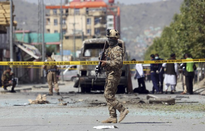 7 killed, 85 injured in Afghan truck bomb blast