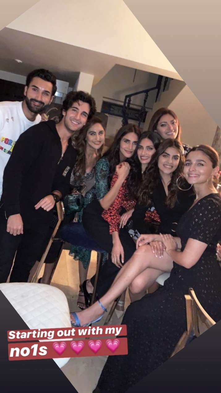 India Tv - Bollywood celebs at Akansha Ranjan Kapoor's birthday party
