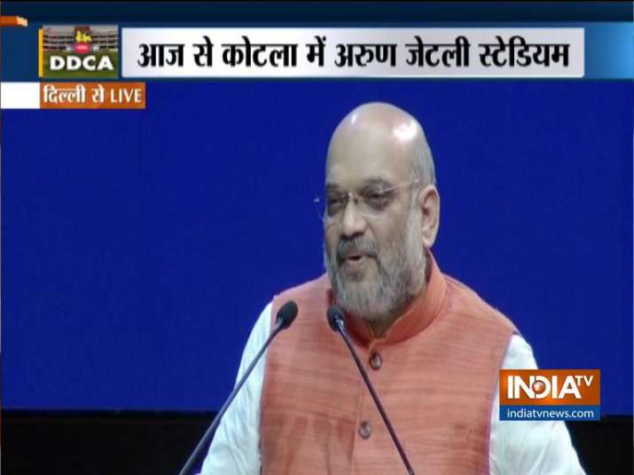 Home Minister Amit Shah remembers Arun Jaitley