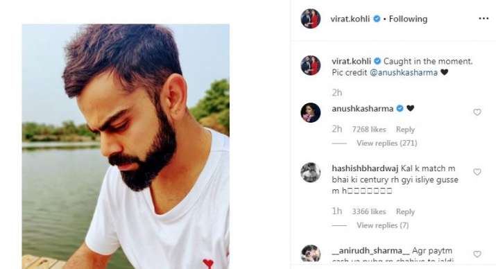 India Tv - Anushka acknowledged the post with a heart emoji in the comments section.