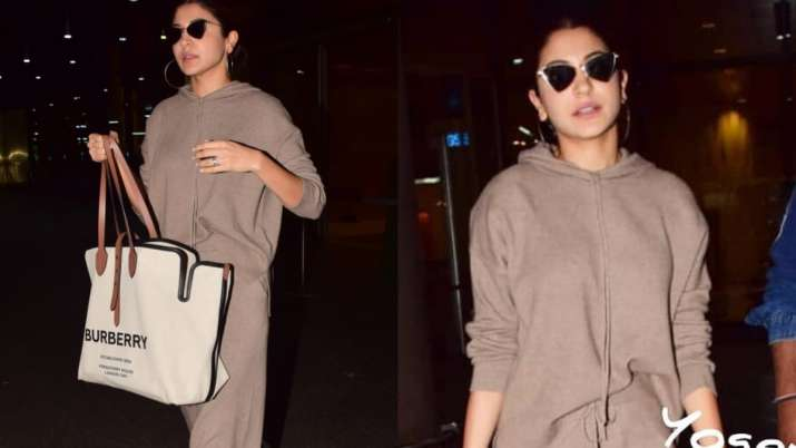 Cost of Anushka Sharma's statement Burberry bag will leave you stunned