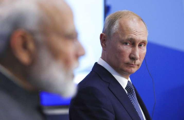 India Tv - Prime Minister Modi, President Putin against 'outside influence' in internal matters of state