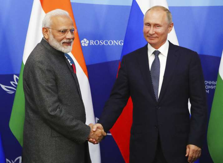 Prime Minister Modi, President Putin against 'outside