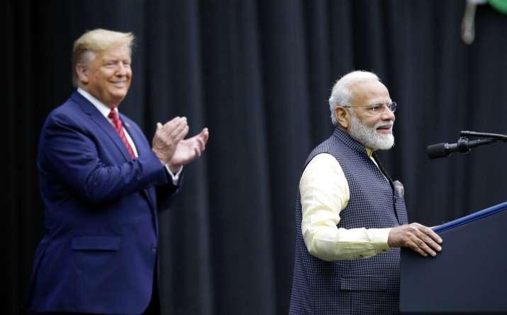 In presence of POTUS, PM Modi 'bids farewell' to Kashmir