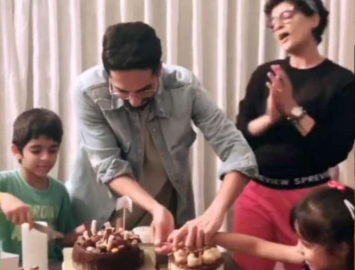 India Tv - Ayushmann Khurrana celebrates birthday