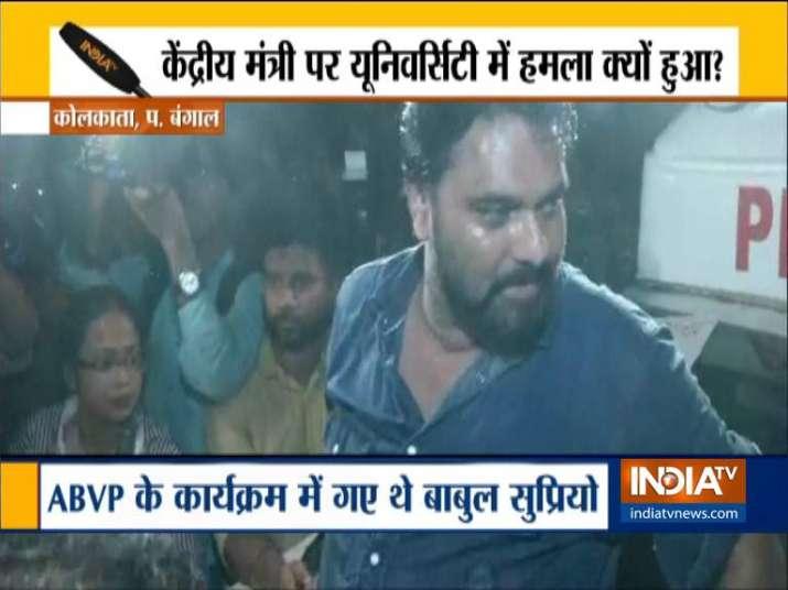 Gheraod, shirt torn, hair pulled: Why was Babul Supriyo meted with shocktreatment at Kolkata's Jadav