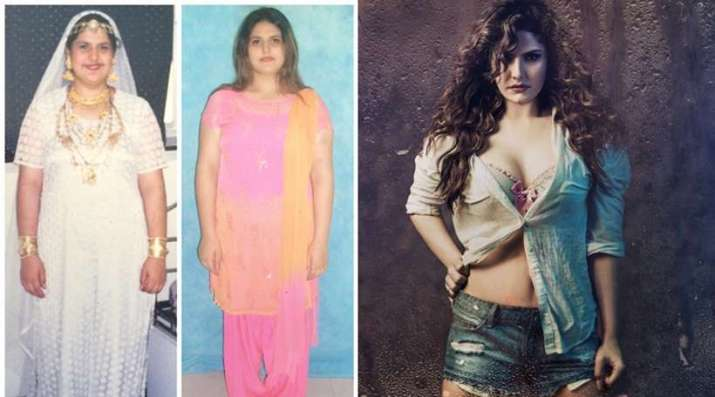 India Tv - Zareen Khan Then Vs Now