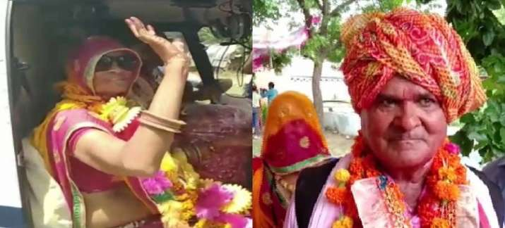 Love is in the air: Rajasthan teacher gifts himself, wife chopper ride to fulfill his wife's dream