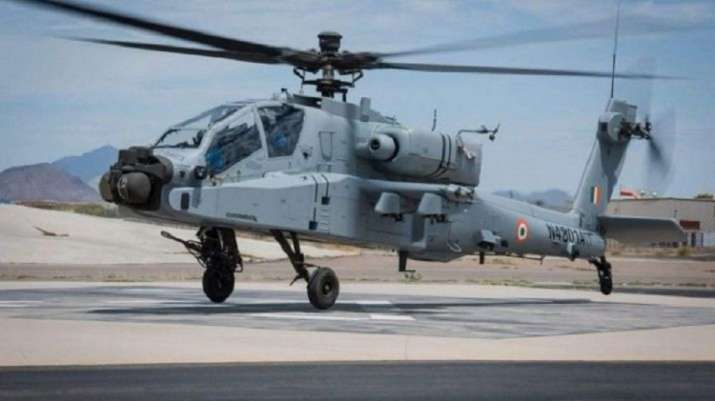 Eight Apache choppers to be inducted into IAF on Tuesday