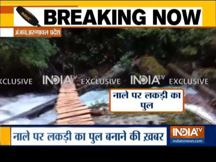 Video shows China's illegal intrusion in Arunachal Pradesh | IndiaTv Exclusive