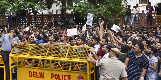 ca students protest today, ca students protest, CA students protest, Rahul Gandhi Rallies Support, I