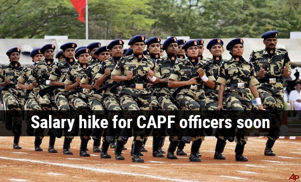 SALARY HIKE for Central Armed Police officers soon! Govt