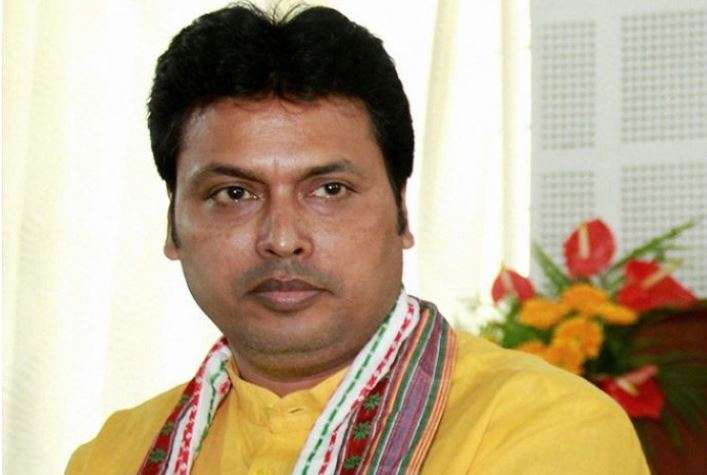 Tripura CM backs Shah's 'one nation, one language' call