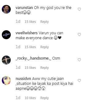 India Tv - Screenshot of the comment section