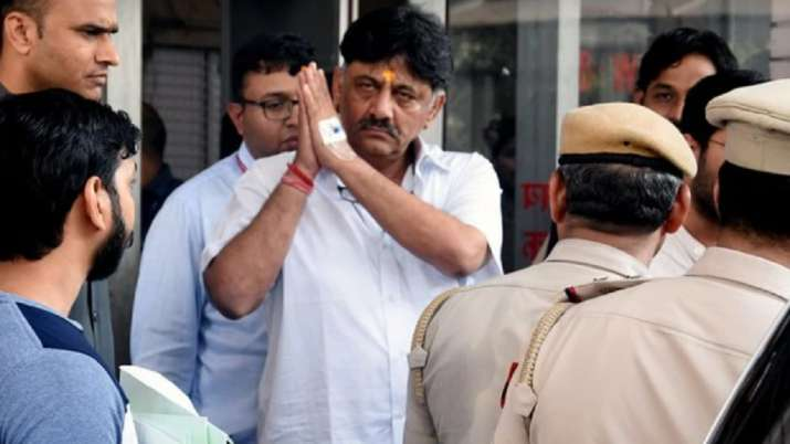 DK Shivakumar hospitalised for the third time