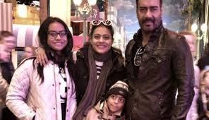 India Tv - Kajol with family