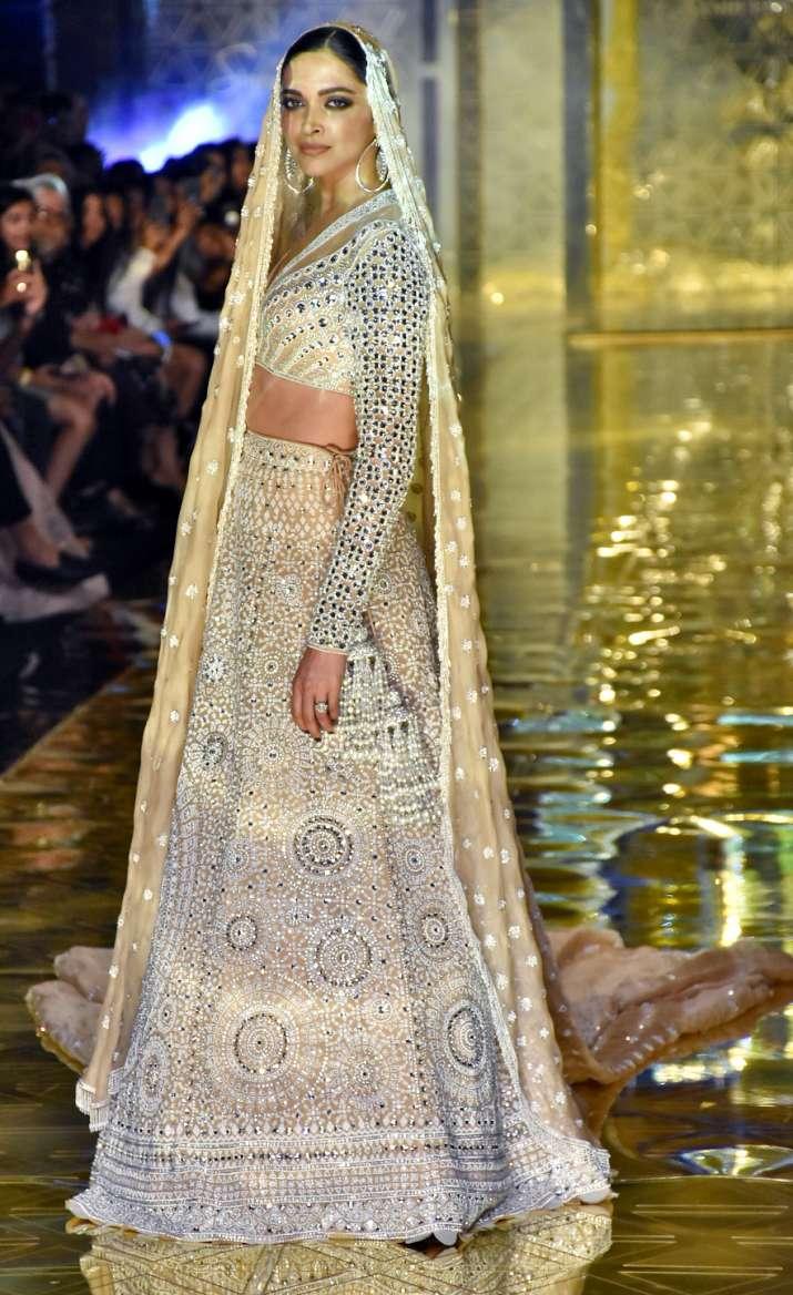 India Tv - Deepika Padukone stuns in lehenga