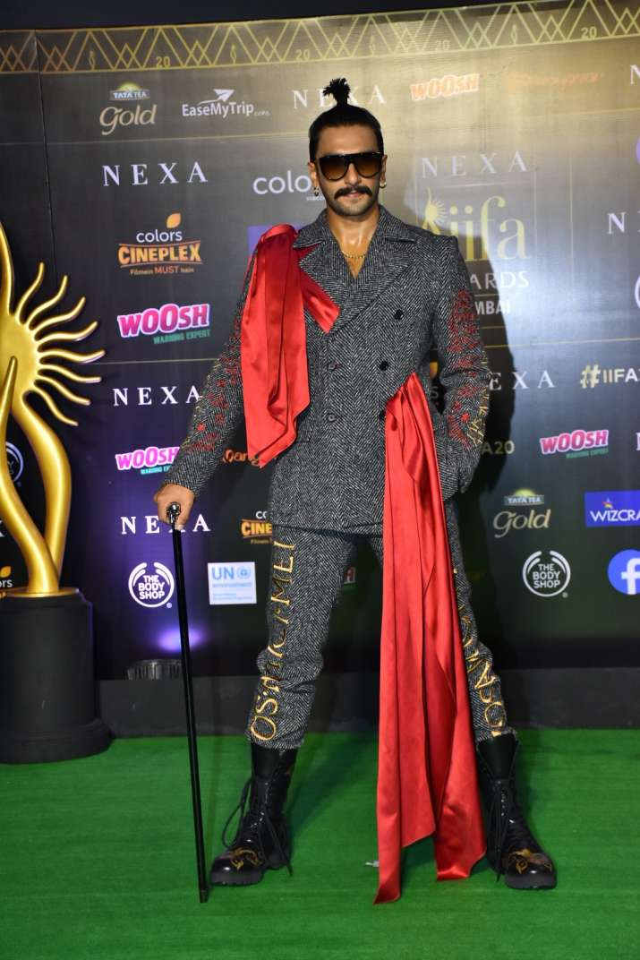 India Tv - Ranveer at IIFA 2019