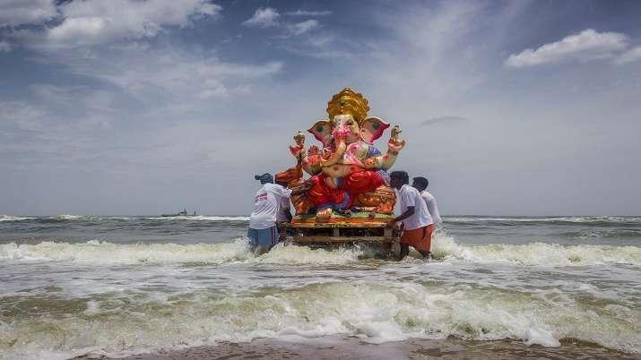 Over 38k Ganpati idols immersed at 129 spots in Mumbai