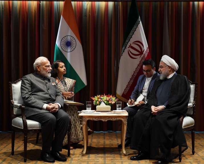 PM Modi meets Iranian President Hassan Rouhani; exchange