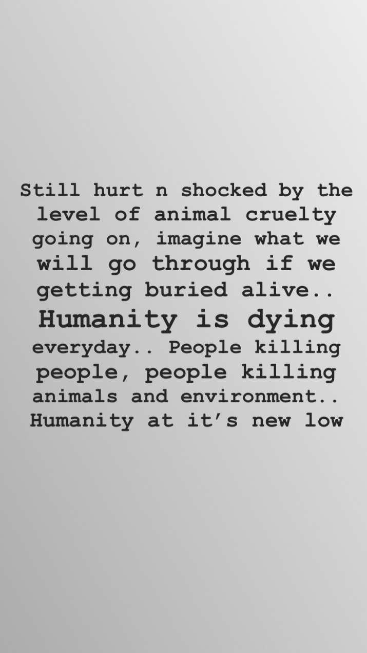 India Tv - Esha Gupta's Instagram story