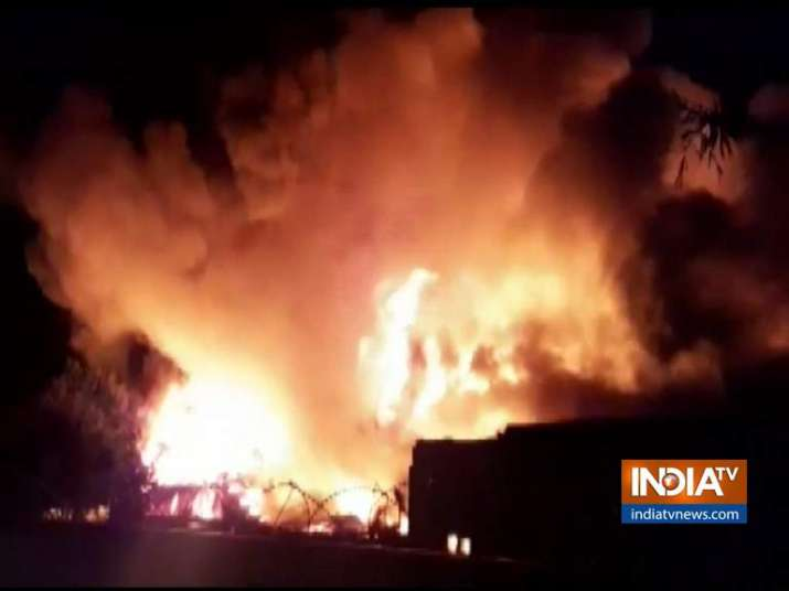 Fire in Bareilly factory