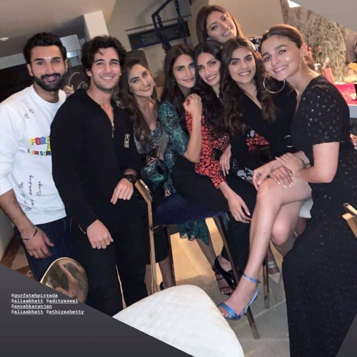 India Tv - Friends at Akansha Ranjan Kapoor's birthday party photos
