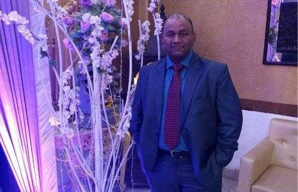 Gaurav Sharma, a Noida resident, died during traffic inspection.