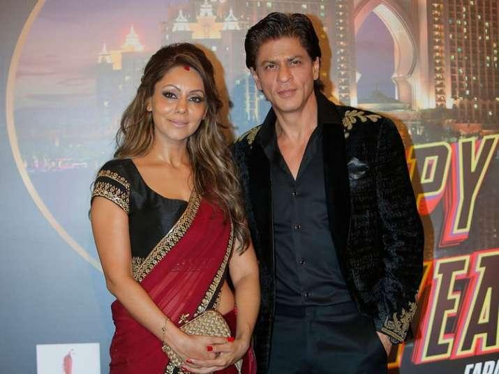 India Tv - SRK and Gauri Khan