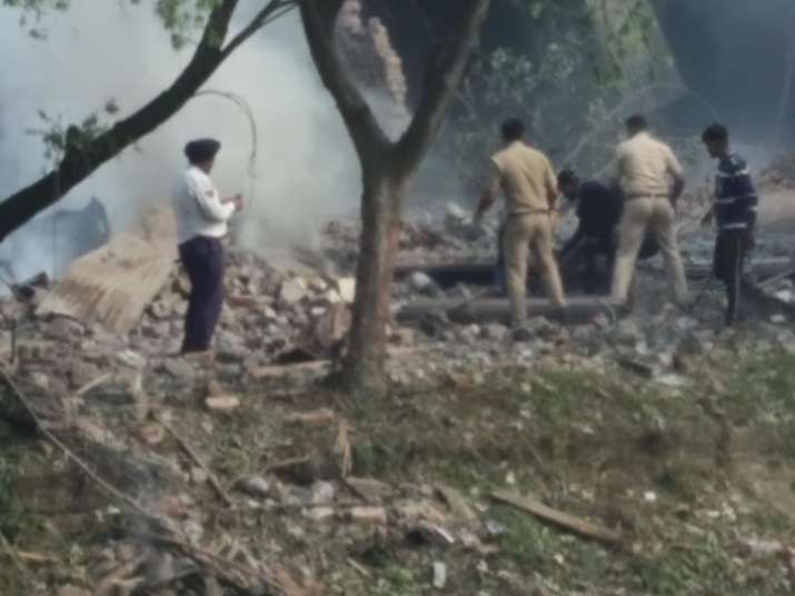 India Tv - Police, Fire Brigade and medics are at the spot