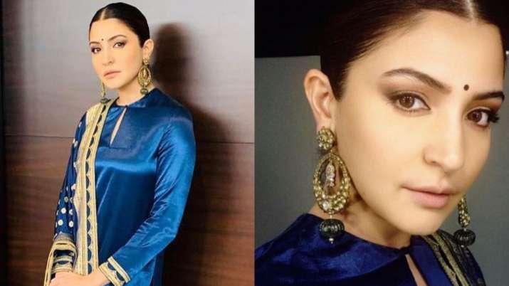Anushka Sharma looks a million bucks in a Sabyasachi