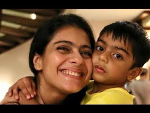 India Tv - Kajol with son Yug