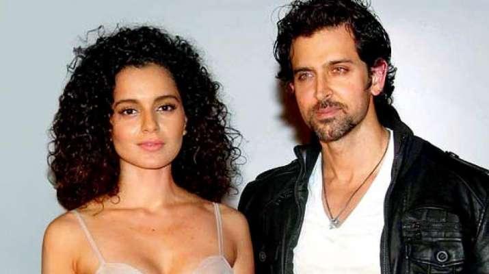 India Tv - Hrithik Roshan and Kangana Ranaut