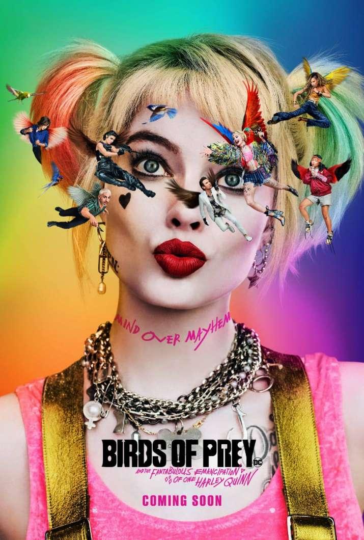 India Tv - Birds of Prey poster featuring Margot Robbie released
