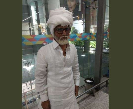 Dyed beard, spectacles on, sitting on wheelchair: Man impersonating as 80 yr-old held at Delhi airpo