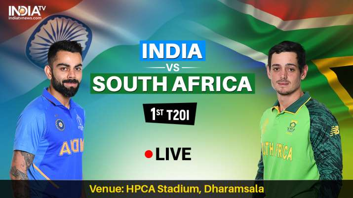 India Vs South Africa 1st T20i Watch Ind Vs Sa Live Match
