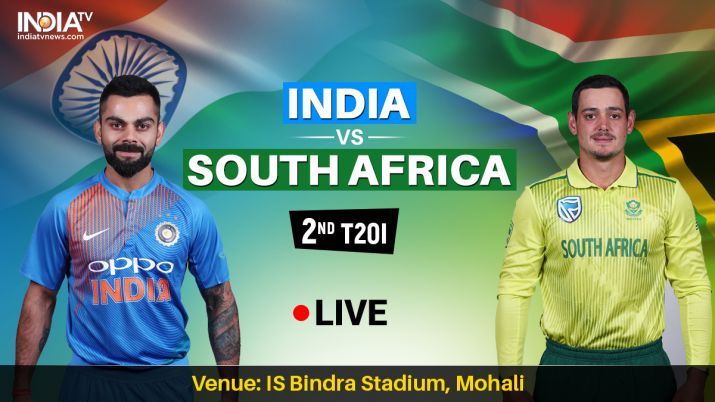 Live Streaming Cricket, India vs South Africa 2nd T20I: Watch 2nd T20I Live on Hotstar, Star Sports,