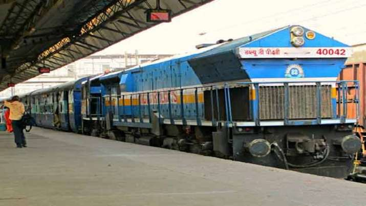 DMK stages stir against railway examinations in English,