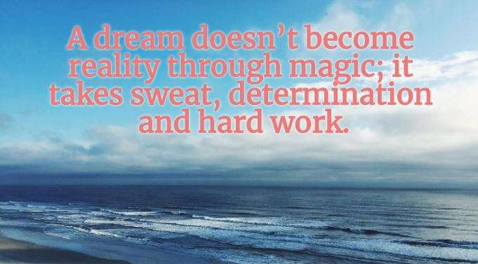 India Tv - A dream doesn't become reality through magic; it takes sweat, determination and hard work