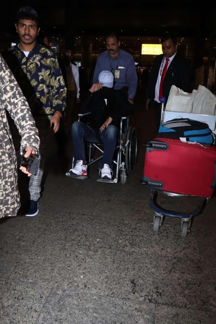 India Tv - Irrfan Khan returns to Mumbai after wrapping up Angrezi Medium
