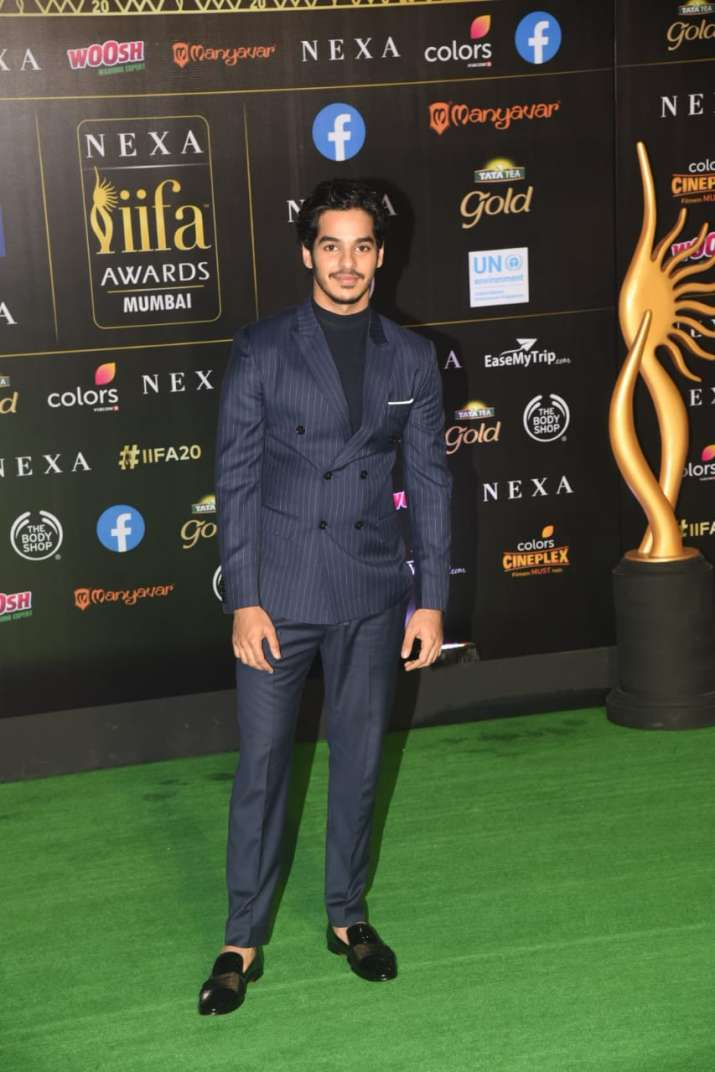 India Tv - Ishaan Khatter makes a style statement at IIFA 2019 Green Carpet