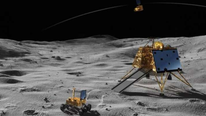 NASA's deep space network beaming radio frequency to Lander