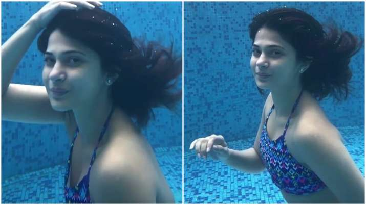 Beyhadh 2 actress Jennifer Winget is a water baby in her ...