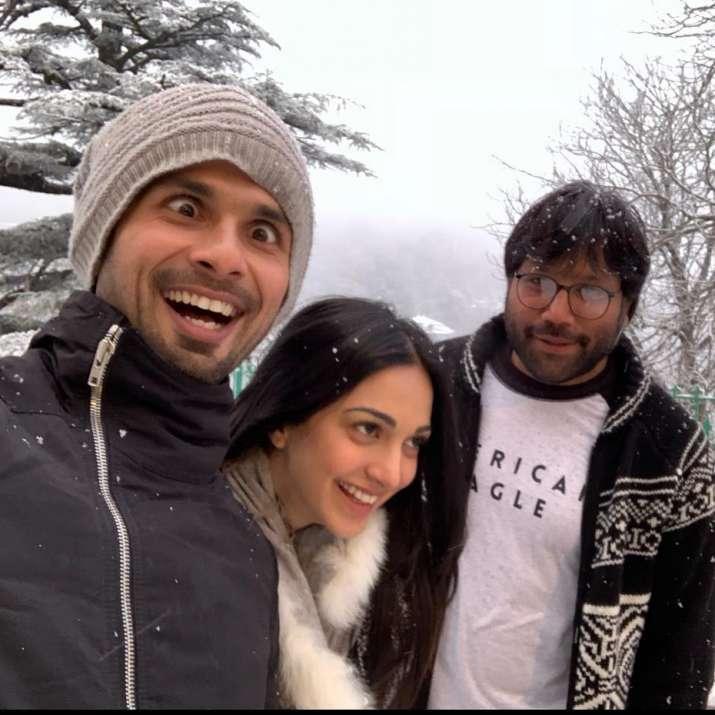 India Tv - Shahid Kapoor, Kiara Advani and Sandeep Reddy Vanga