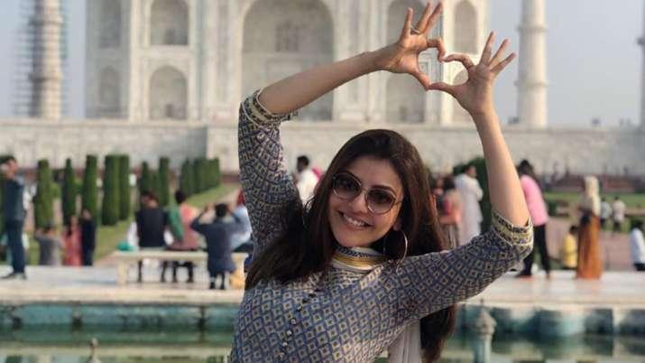 Kajal Aggarwal visits Taj Mahal for the first time