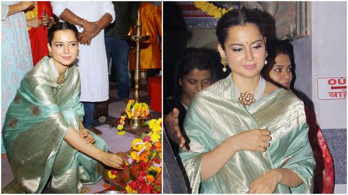 Kangana is an epitome of beauty in this beautiful powder